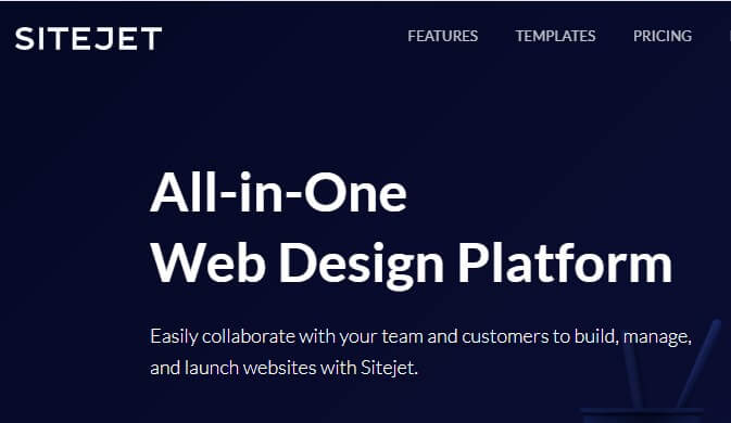 Sitejet Website Builder