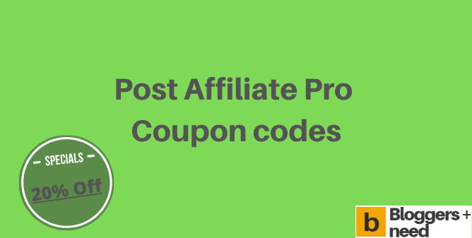 Post affiliate pro coupon codes