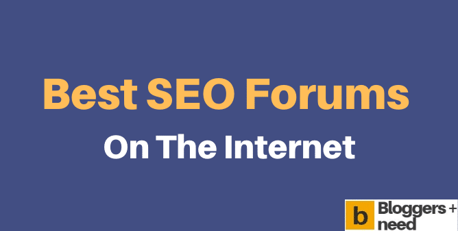 Best SEO Forums