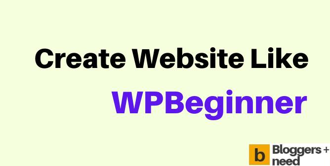 create wpbeginner theme