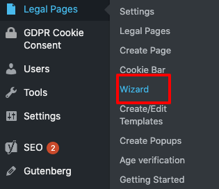 guided wizard