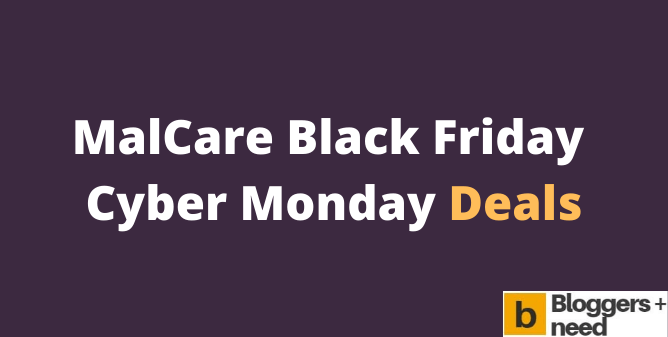 MalCare Black Friday Cyber Monday Deals