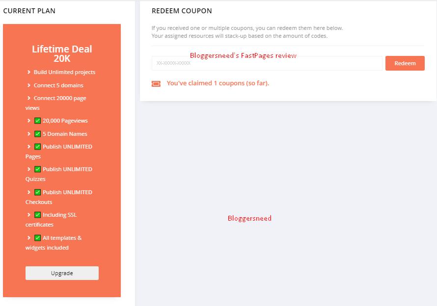 subscription details